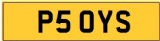 YS INITIALS  Private CHERISHED Registration Number Plate  YS